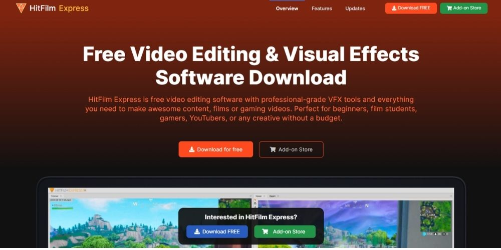 HitFilmExpress - Best Free Video Editing Software
