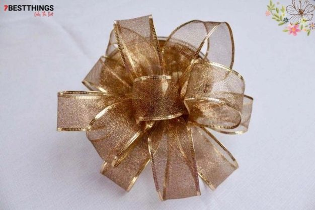 1: How To Tie A Bow With Wired Ribbon?